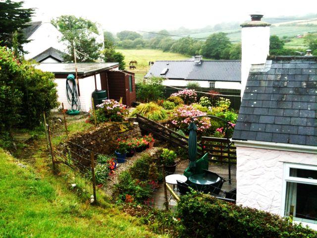 View from Grans Garden