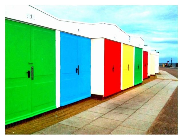 Beach Huts at Exmouth