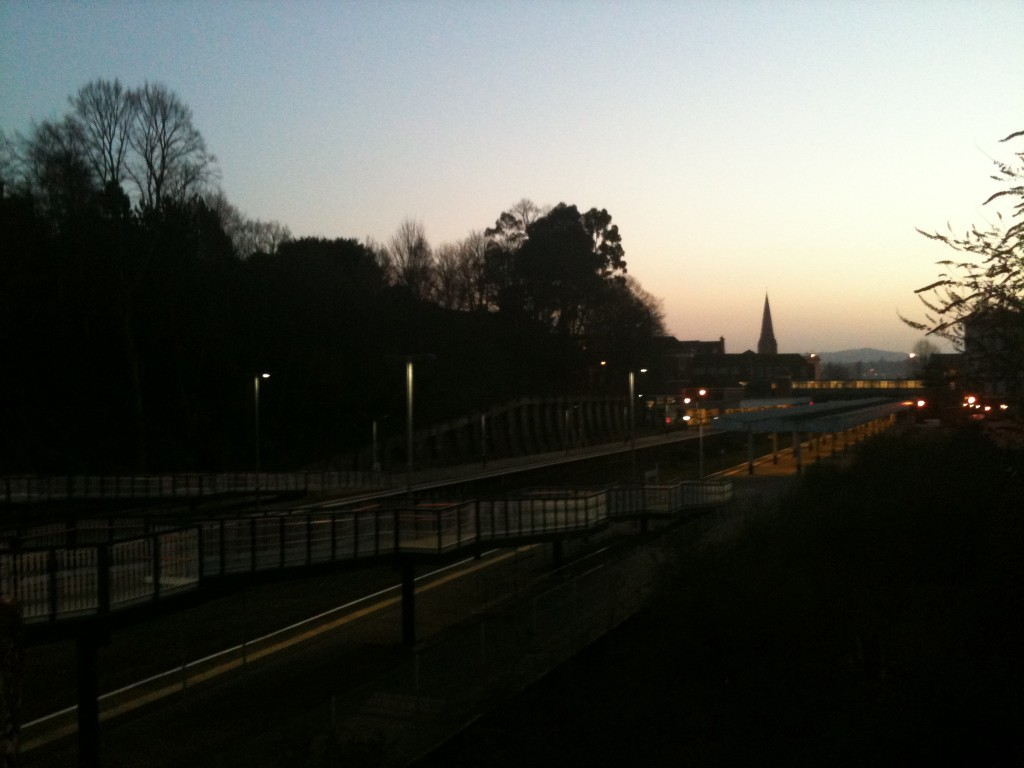 March6th 1024x768 Sunset Over Exeter Central