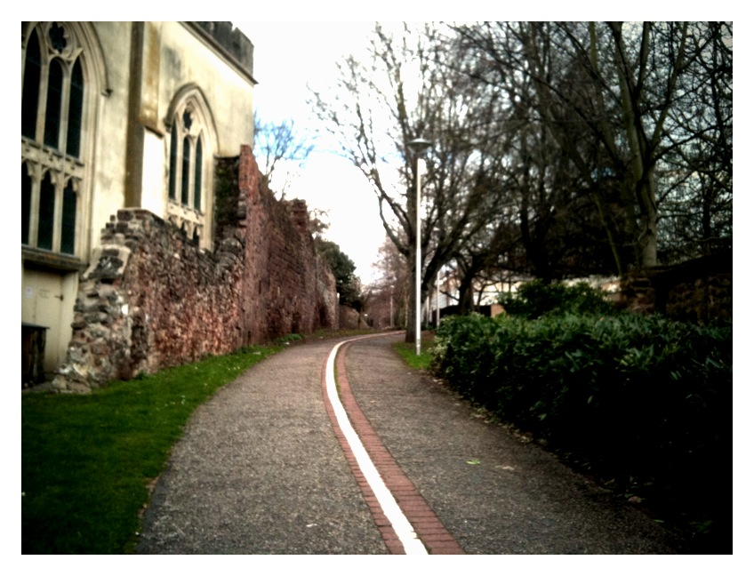 March9th The Exeter Roman Wall Walk