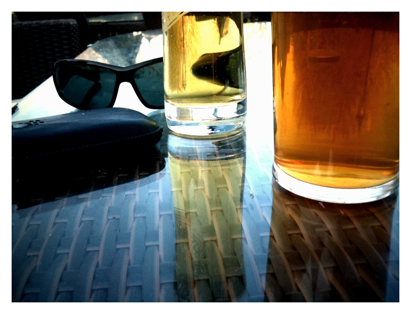 April18th Sun drenched beer...
