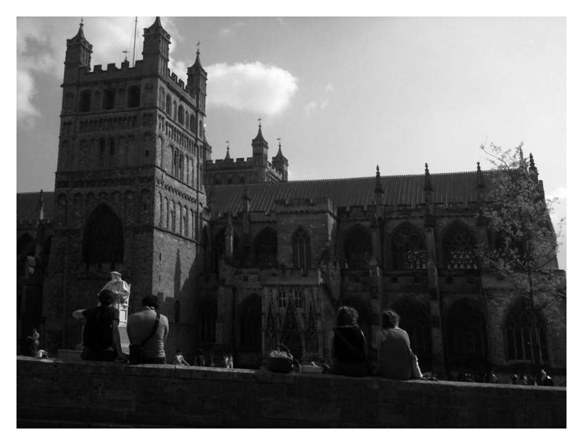 April23rd Exeter Cathedral Green Has Been Reopened...