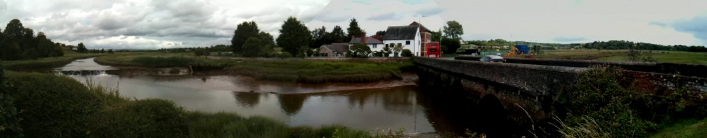 July16th 1024x200 View From Bridge Inn, Topsham