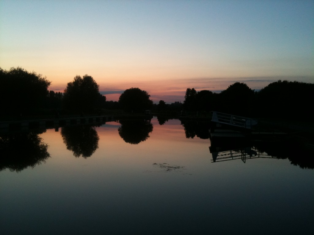 July2nd 1024x768 Sunset by Double Locks, Exeter